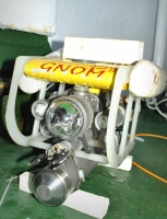 GNOM ROV in the Kara Sea with spectrometer